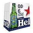 Cerveza0,0% Pack 6 x 25 cl Heineken