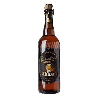 Carrefour Cerveza de Abadía l'abbaye 75 cl