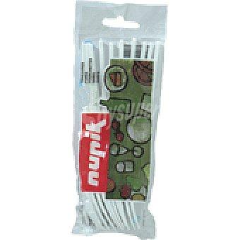 Nupik Tenedor plastico 25 UNI