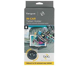 """TARGUS IN Soporte para coche de Tablet CAR AWE77EU, compatible con ipad y tablets de 7"""" a 10"""", ajustable con selector de sujeción, correa ajustable para sujetar el dispositivo al reposacabezas"""