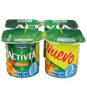 Activia Danone Activia 0% albaricoque cereal y nuez Pack de 4x125 g