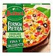 Pizza vegetal calabacin pimientos y aceitunas Estuche 370 g Buitoni