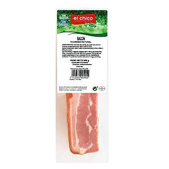 El Chico Bacon al vacío cortado en lonchas, sin gluten ni lacteos 300 g