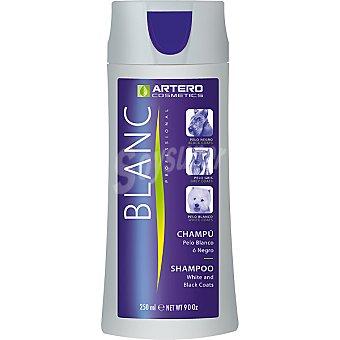 ARTERO COSMETICS Blanc Champú para perro especial pelo blanco Envase 250 ml