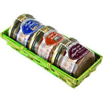 J. Brunet Paté en cesta Pack 3x180 g