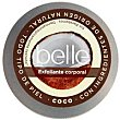 Exfoliante corporal de coco piel normal Tarro 200 ml Belle