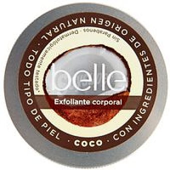 Belle Exfoliante corporal de coco piel normal Tarro 200 ml