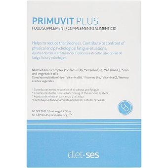 Sesderma Primuvit Plus que ayuda a disminuir el cansancio caja 60 capsulas 60 capsulas