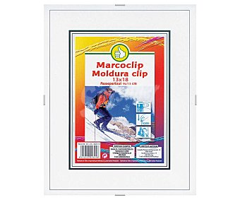 Productos Económicos Alcampo Marco con cierre clip 13x18 centímetros 1 unidad