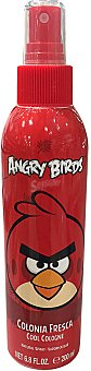 ANGRY BIRDS Colonia infantil body spray angry birds red Botella de 200 ml