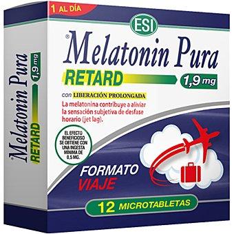 ESI Melatonin Pura Retard favorece el descanso fisiológico caja 12 microtabletas