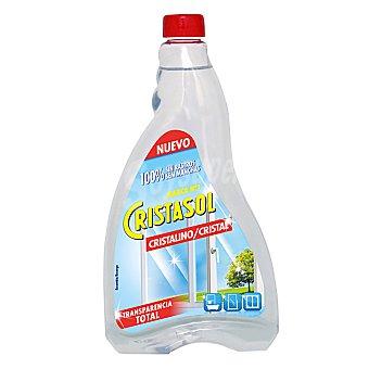 Cristasol Ajax Limpia cristales cristalino recambio Botella 750 ml
