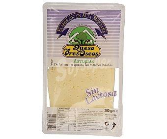 QUESO TRES OSCOS Queso tierno sin lactosa en lonchas tres oscos 200 gramos