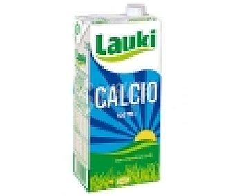LAUKI Leche semidesnatada con calcio 1 litro