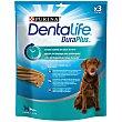 Snack dental para perro grande Purina Dentalife Duraplus 243 g. 3 unidades Purina Dentalife