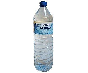 Font Sorda Agua mineral Botella de 1,50 litros