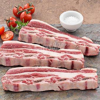 Ternera gallega falda costillar para churrasco 3ª A/ falda pecho para cocido Al peso 1 kg