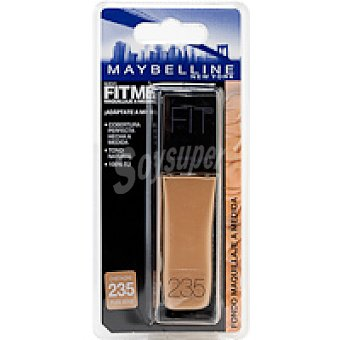 Maybelline New York Fondo de maquillaje Fit Me 235 Pack 1 unid