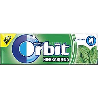 Orbit Chicles sabor hierbabuena en grageas Paquete 14 g