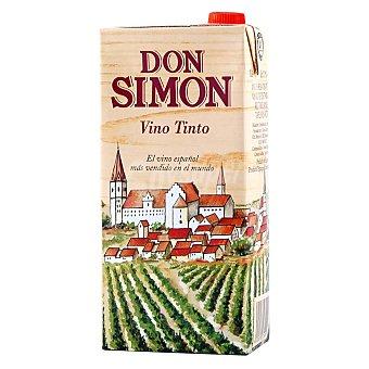 Don Simón Vino Tinto de mesa Brik 1 litro