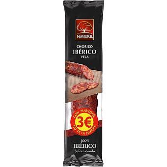 Navidul Chorizo ibérico vela  Pieza 180 g