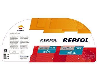 REPSOL Aceite mineral para vehículos diésel, TDI 5 Litros