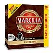 Café ristretto 20 cápsulas Caja 104 gr Marcilla