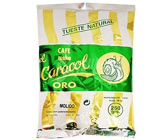 El Caracol Cafe molido natural oro 250 g