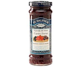 St. Dalfour Mermelada de cuatro frutas (frambuesas, Cerezas Negras, Fresas y Moras) 284 g