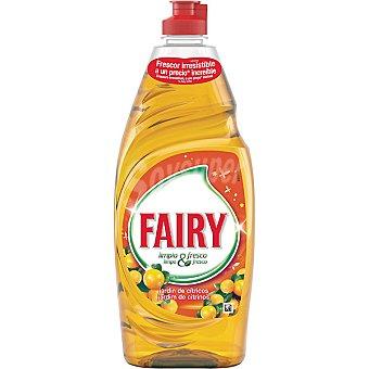 Fairy Ultra fresh lavavajillas a mano concentrado jardín de cítricos botella 740 ml Botella 740 ml