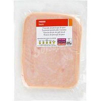 Eroski Basic Pechuga de pavo Sobre 225 g