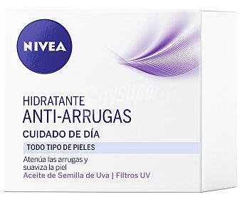 Nivea Crema antiarrugas cuidado de día para todo tipo de pieles Tarro 50 ml