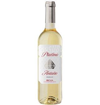 Vino rioja platino antaño blanco 75 cl 75 cl