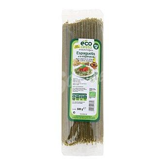 Ecocesta Espaguetis a la espinaca bio 500 g