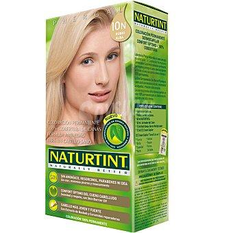 Naturtint Tinte rubio alba 10n color permanente sin amoniaco caja 1 unidad Caja 1 unidad