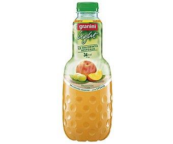 Granini Melocotón y uva con Stevia sin azúcares añadidos Light botella 1 l