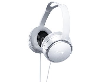 SONY MDRXD150W Auricular tipo diadema con cable, color blanco