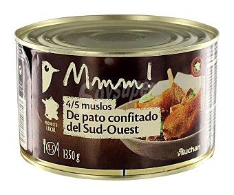 Mmm Auchan Muslos de pato confitado 745 grs