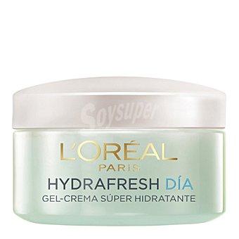 L'Oréal Gel-crema de día super hidratante Hydrafresh para piel normal 50 ml