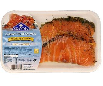 Skandia Carpaccio de salmón fresco al limón y eneldo Bandeja 100 g