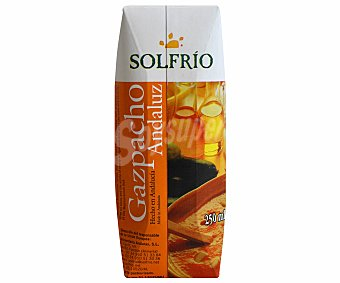 SOLFRIO Gazpacho andaluz 250 mililitros