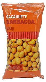 Hacendado Cacahuete barbacoa Paquete 100 g