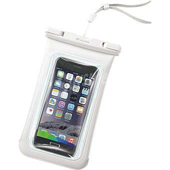 CELLULAR LINE Funda Impermeable Voyager en color blanco