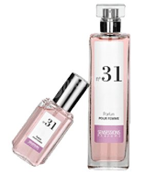 Sensessions Parfums Estuche Perfume para mujer Nº 31 spray 100ml + colonia mini spray 30ml. 1 ud
