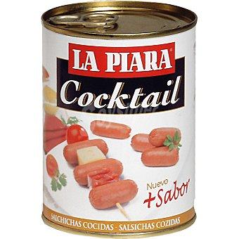 La Piara Salchichas cóctel más sabor Lata 170 g neto escurrido