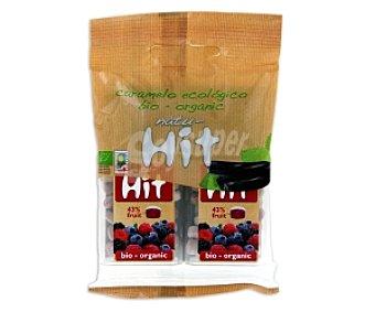 NATU Caramelos frutos rojos, Ecológicos 2x11g