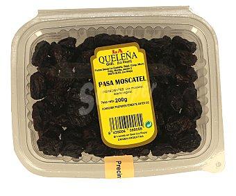 La Queleña Pasa moscatel,, caja 200 gramos