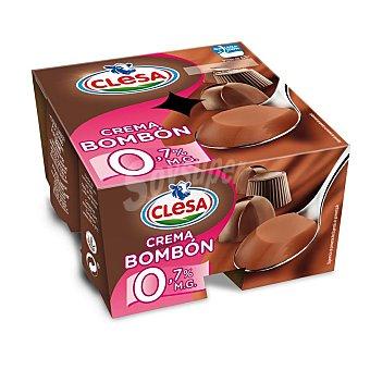CLESA Crema Bombón Pack 4x125 g
