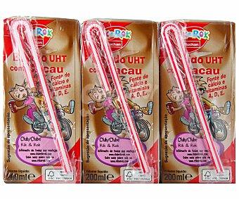Rik&Rok Auchan Bat. cacao 3x200ml