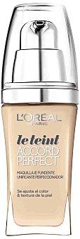 L'Oréal Paris Maquillaje Accord Perfect N4 Beige de l'oréal 1 ud
